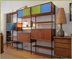 Modern Bookcases With Doors Building Mid Century Modern Bookshelf All Modern Home Designs