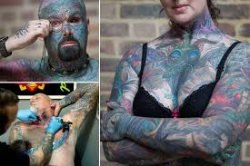 this extreme body art from the london international tattoo