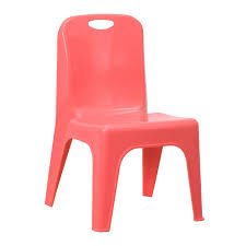 Outdoor Plastic Stackable Chairs Mfo Red Plastic Stackable Chair With Carrying Handle And 11