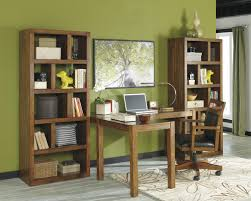 Office Desk With File Cabinet Home Office Desk Chair With Cutout Detail By Signature Design By