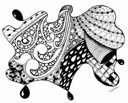 zentangle coloring pages coloring home