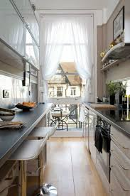 small square kitchen design ideas 31 stylish and functional narrow kitchen design ideas digsdigs