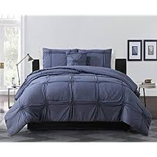 Jersey Knit Comforter Twin Amazon Com 100 Cotton Jersey Knit Comforter Twin Size Denim Blue