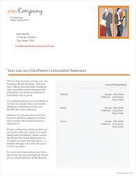 10 best images of employee benefit enrollment notice letter
