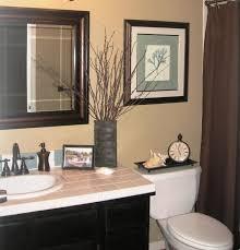 ideas for decorating bathroom creative guest bathroom decorating ideas lovable