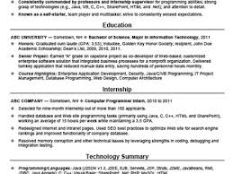Resume Sample For Computer Programmer 41 Free Entry Level Resume Templates 9 Entry Level Resume