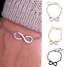 vintage infinity bracelet images 2015 vintage infinity sign bracelet metal infinite chain bangle jpg