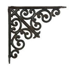 metal decorative brackets for shelves decorative shelf brackets