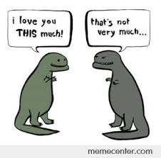 Funny T Rex Meme - t rex love by ben meme center