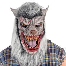Werewolf Mask Scary Werewolf Mask Halloween Mask Woodiespartyzone Ie
