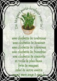Muguet Porte Bonheur Aux Petits Bonheurs D Arielle  Image Muguet