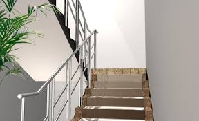 interior beautiful metal stair home decorations insight