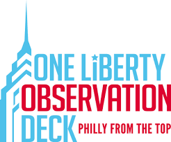 pa philly from the top one liberty observation deck