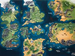 Narnia Map No Spoilers A Map Of Westeros And Other Places Rebrn Com