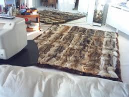 Real Fur Blankets Real Fur Bedspreads Of Fox Mink Lynx Chinchilla Beaver Raccoon