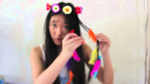 last minute halloween tutorial hippie flower child youtube