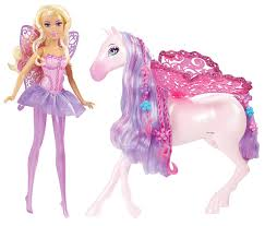 amazon com barbie the princess and the popstar fairy doll and
