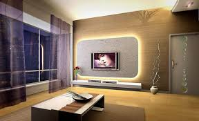 Modern Decoration For Living Room With Modern Apartments Living - Interior decoration living room
