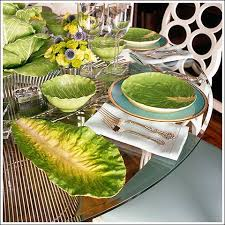tory burch dinnerware tablescapes lettuce ware by dodie thayer for tory burch the