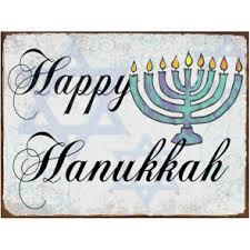 happy hanukkah signs christmas metal signs christmas tin signs metal signs
