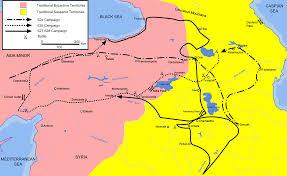 Asia Minor Map Maps The History Of Byzantium