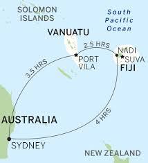 Vanuatu Map New Vanuatu Hotel Ratua Private Island