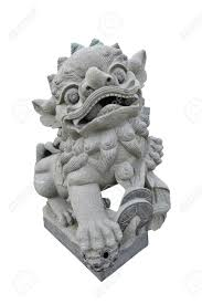 asian lion statues lion sculpture symbol of protection power in