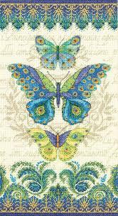 peacock butterflies cross stitch kit butterfly cross stitch