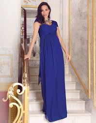 maternity evening wear sapphire silk maternity evening gown seraphine