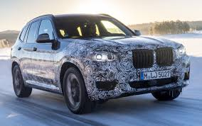 kereta bmw x6 g01 bmw x3 shown in official