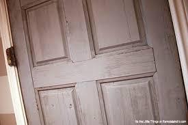 can you use an existing door for a barn door a door from an door