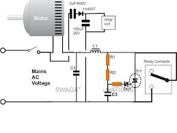 electric motor circuit wiring diagram components