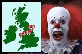 top creepy clowns birthday party anyone horror what is the creepy clown craze everything you need to about