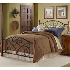 headboard frame bed footboard doral with metal grills furniture
