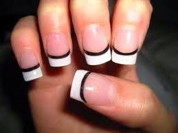 7 nail designs with black and white black and white nail art