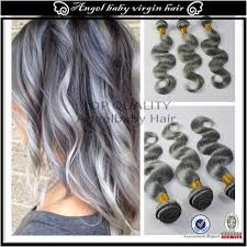 hair extensions uk 7a grey silver ombre human hair extensions hair