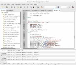 design text editor using c 10 best text editors for linux and programming 2018 edition