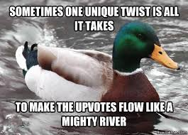 Advice Mallard Meme Generator - breathing new life into this meme template left exit 12 off r