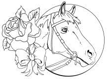 100 ideas horse coloring pages girls dianacaramaschi