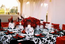 interesting black red and white wedding decor 53 with additional