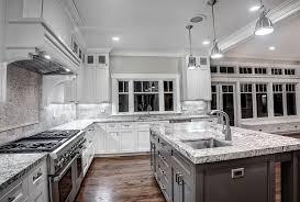 Kitchen Stone Backsplash With White Cabinets Eiforces - White kitchen backsplash