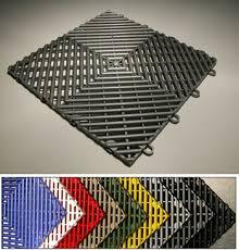 snaplock industries racedeck free flow garage floor tile