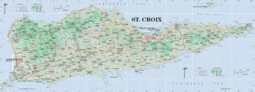 st map st croix map from islands on line