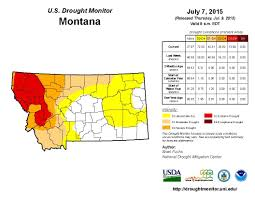 Montana Road Report Map by Usda Declares Drought Disaster In 24 Montana Counties Mtpr