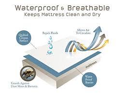 Dust Mite Crib Mattress Cover Waterproof Mattress Protector Bed Premium