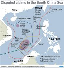South China Sea Map by Asean China Ministers To Endorse South China Sea Code Of Conduct