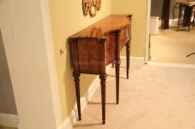 dining room consoles buffets narrow mahogany sideboard for dining room great console table