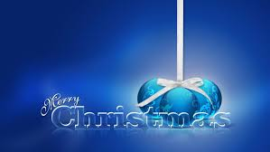 beautiful love blue merry christmas background definition