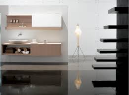 Contemporary Bathroom Shelves Furniture Modern Bedroom Ivory Themes With Sink Decor Feature