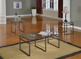 coffee table and end table sets 2 amazon com 3 pc glass and pewter finish metal frame coffee table